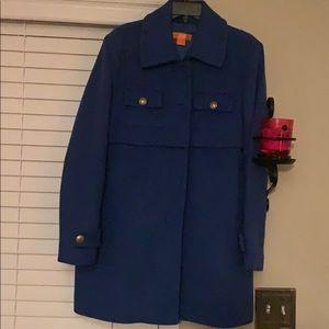 Royal Blue apes Coat size large